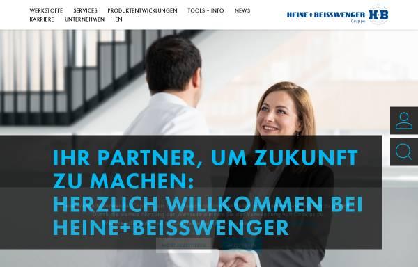 Vorschau von www.heinestahl.de, Heine + Beisswenger Stahl- und Metallgroßhandel