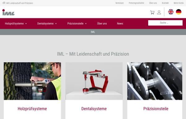 Vorschau von www.iml.de, IML - Instrumenta Mechanik Labor System GmbH