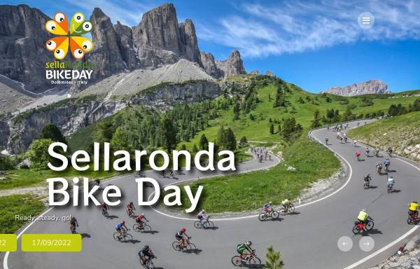 Vorschau von www.sellarondabikeday.com, Sellaronda Bike Day