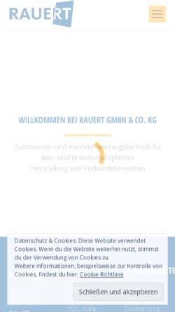 Vorschau der mobilen Webseite www.matthias-brock.de, Bauschutzplatten / Promatect-Zuschnitte - Matthias Brock