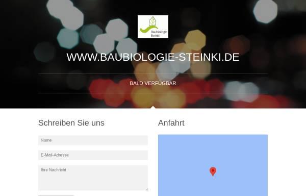 Vorschau von www.baubiologie-steinki.de, Baubiologie Steinki - Sachverständigenbüro für Baubiologie und Umweltanalytik