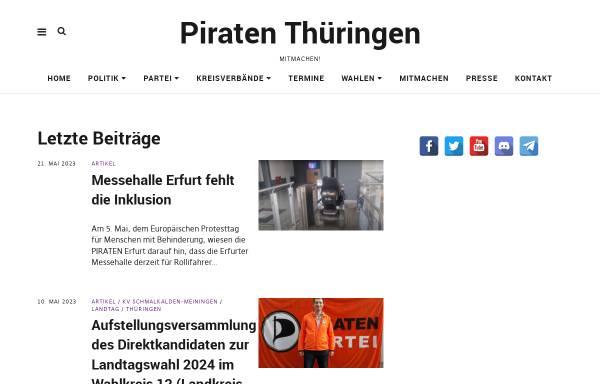 Vorschau von piraten-erfurt.de, Piratenpartei Erfurt