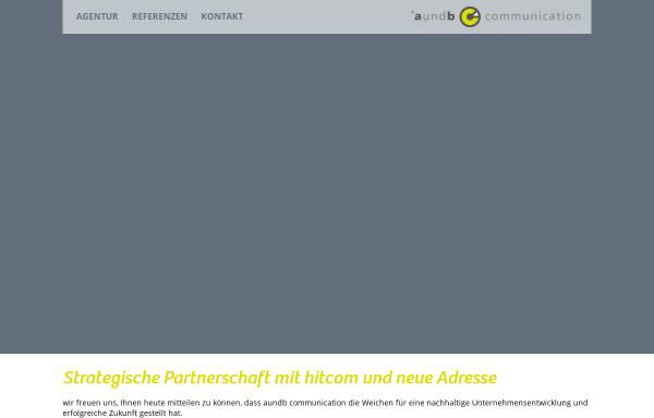 Vorschau von www.aundb.de, aundb - Mitarbeiterbindung und Kundengewinnung