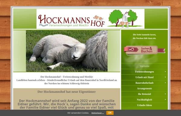 Vorschau von www.hockmannshof.de, Hockmannshof - Ferienwohnungen und mehr...