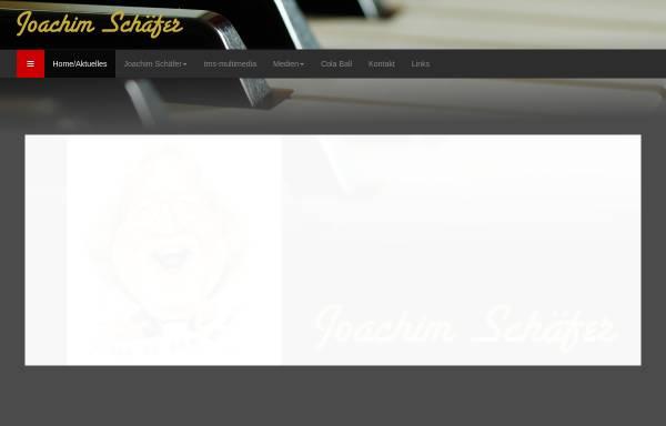 Vorschau von www.joachimschaefer.com, Joachim Schäfer