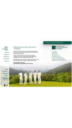 Vorschau der mobilen Webseite www.zpg-trostberg.de, Zahnarzt-Praxis Trostberg, Landkreis Traunstein