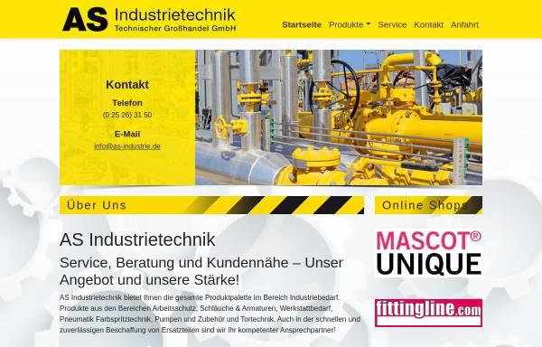 Vorschau von www.as-industrie.de, AS-Industrietechnik GmbH