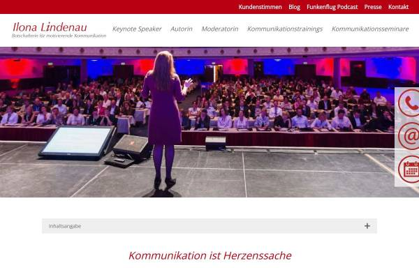 Vorschau von www.ilonalindenau.de, Ilona Lindenau