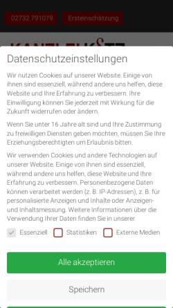 Vorschau der mobilen Webseite www.verkehrsrechtsiegen.de, Rechtsanwälte Kotz