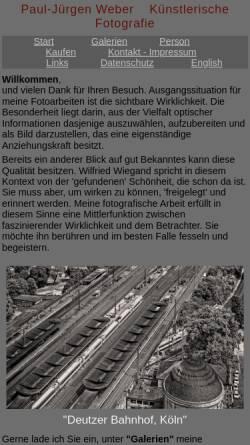Vorschau der mobilen Webseite www.pjweber.de, Weber, Paul-Jürgen