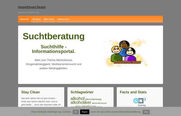 Vorschau von www.meetmeclean.de, meetmeclean community