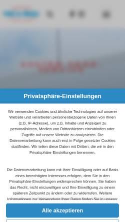 Vorschau der mobilen Webseite www.pein-prizzi.de, Pein & Prizzi GmbH