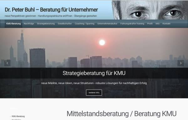 Vorschau von www.buhlberatung.com, Buhl Beratung - für Inhaber-geführte und Familienunternehmen