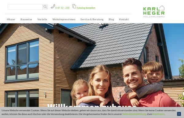 Vorschau von www.heger-holzbau.de, Karl Heger Holzbau GmbH
