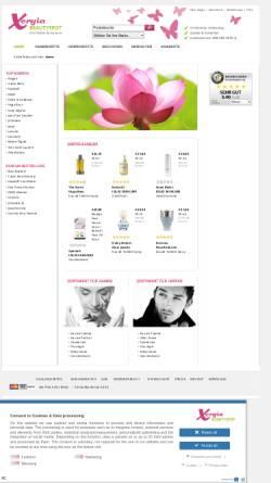 Vorschau der mobilen Webseite www.xergia.de, Xergia Beautyspot