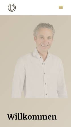 Vorschau der mobilen Webseite www.daviddolder.ch, Dolder, David - Hochzeitsfotograf