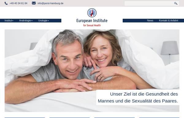 Vorschau von porst-hamburg.de, Prof. Dr. Hartmut Porst - Facharzt für Urologie und Andrologie