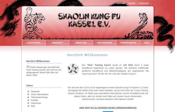 Vorschau von www.freies-training-kassel.de, Freies Training Kassel