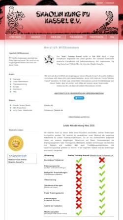 Vorschau der mobilen Webseite www.freies-training-kassel.de, Freies Training Kassel