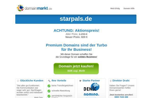 Vorschau von www.starpals.de, Starpals - das Sternzeichen-Netzwerk