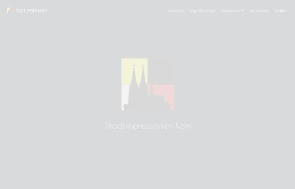 Vorschau von www.stadtimpressionen-koeln.de, Stadtimpressionen Köln