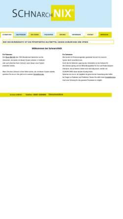 Vorschau der mobilen Webseite schnarchnix.de, SchnarchNIX - Patentierter, individueller snx-Mundeinsatz als Hilfsmittel gegen Schnarchen