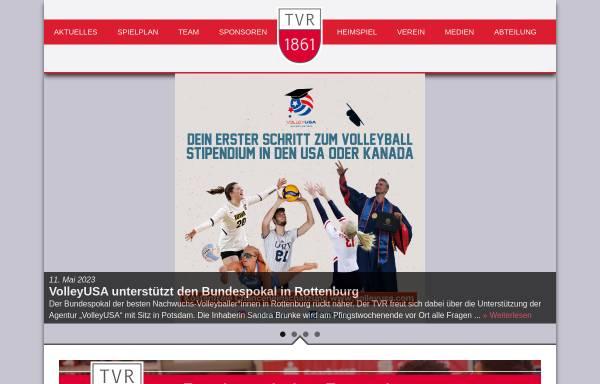 Vorschau von www.volleyball-rottenburg.de, TV Rottenburg - erste Bundesliga Volleyball
