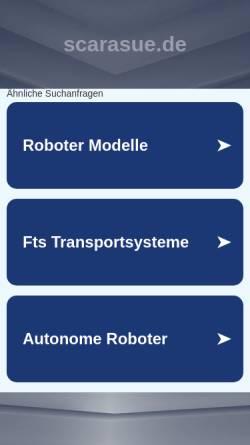 Vorschau der mobilen Webseite www.scarasue.de, ScaraSue - Schmuckmanufaktur