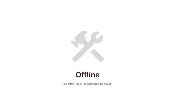 Vorschau von massiv-aus-holz.de, Massiv aus Holz - Online Shop für Massivholzmöbel aus Kiefernholz