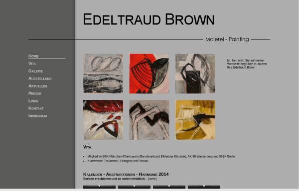 Vorschau von edeltraud-brown.de, Brown, Edeltraud