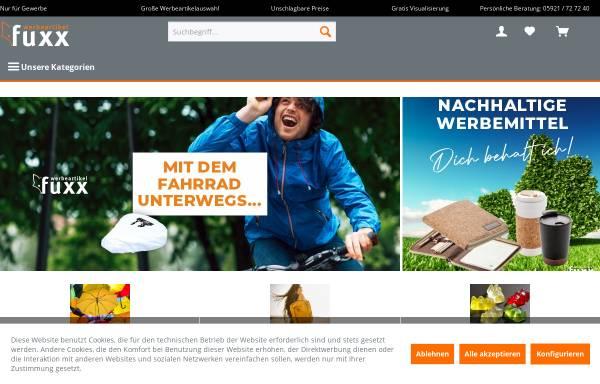Vorschau von www.werbeartikelfuxx.de, Fuxx Vertriebs GmbH & Co. KG