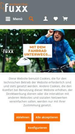 Vorschau der mobilen Webseite www.werbeartikelfuxx.de, Fuxx Vertriebs GmbH & Co. KG
