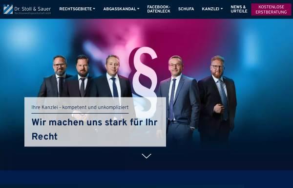 Vorschau von www.dr-stoll-kollegen.de, Dr. Stoll & Kollegen Rechtsanwaltsgesellschaft mbH