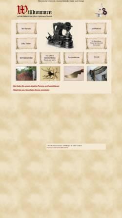 Vorschau der mobilen Webseite www.alte-hammerschmiede.de, Alte Hammerschmiede - Zwischen Feuer und Amboss