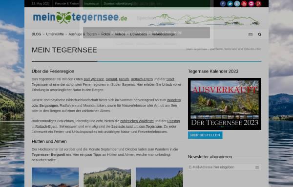 Vorschau von www.mein-tegernsee.de, Mein Tegernsee