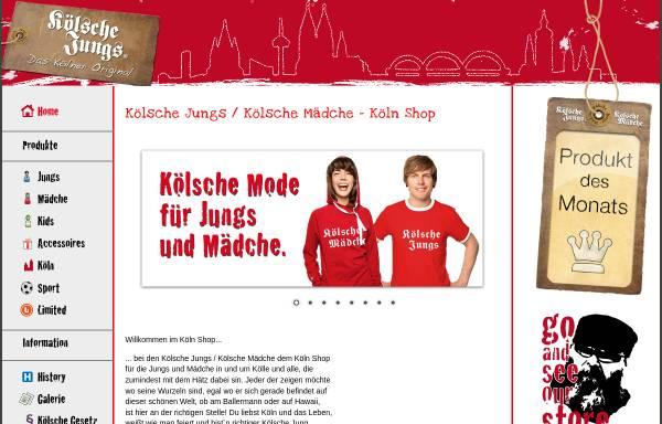 Vorschau von www.koelsche-jungs.com, Kölsche Jungs bzw. Mädche