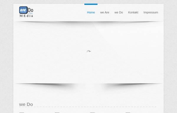 Vorschau von www.wedomedia.de, WeDo MEdia oHG - Digital Signage Lösungen