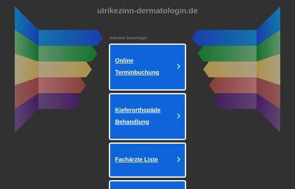 Vorschau von www.ulrikezinn-dermatologin.de, Zinn, Ulrike