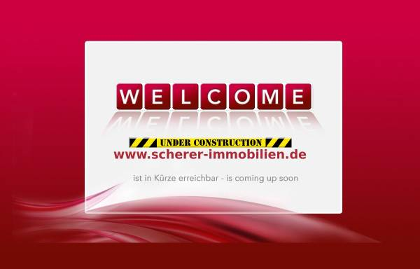 Vorschau von www.scherer-immobilien.de, Scherer Immobilien GmbH