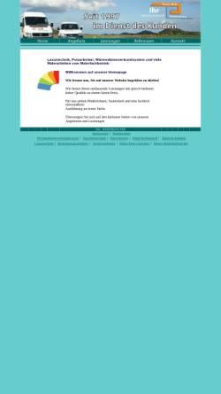 Vorschau der mobilen Webseite www.malerfachbetriebmeier.de, Malerfachbetrieb Thomas Meier