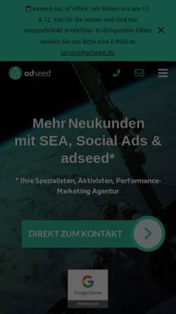 Vorschau der mobilen Webseite www.dorst-emarketing.de, Dorst eMarketing GmbH