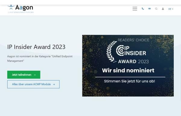 Vorschau von www.aagon.de, Aagon Consulting GmbH