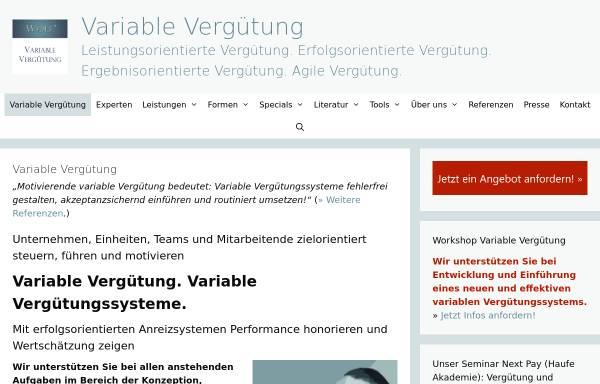 Vorschau von variable-verguetung.com, Variable Vergütung - Wolf I.O. Group GmbH