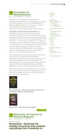 Vorschau der mobilen Webseite netzwerkanalyse.org, Netzwerkanalyse.org ~ Organisationen neu sehen