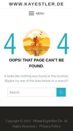 Vorschau der mobilen Webseite www.kayestler.de, Kamtschatka - Trekking im Land der Vulkane [Kay Estler]