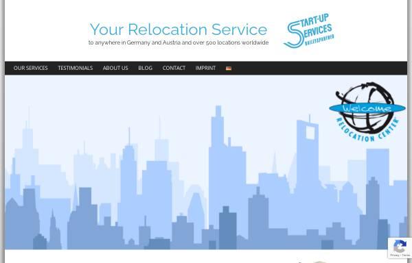 Vorschau von www.start-up-services.de, Welcome Relocation Center - Start-Up Services GmbH