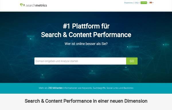 Vorschau von suite.searchmetrics.com, Searchmetrics
