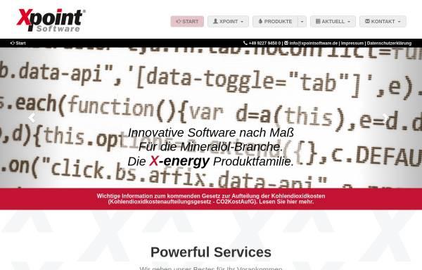 Vorschau von www.xpointsoftware.de, Xpoint Software GmbH
