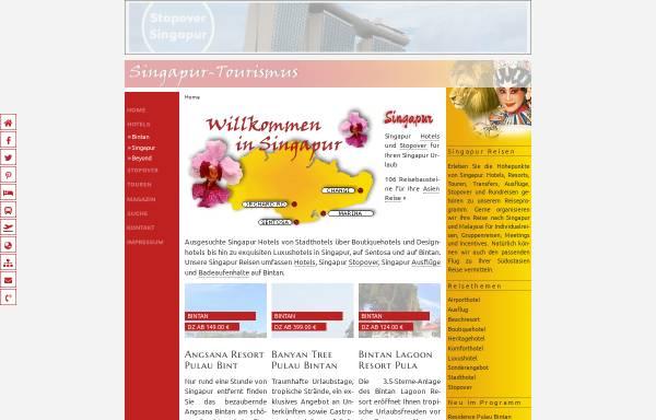 Vorschau von www.singapore-tourismus.de, Singapur-Tourismus