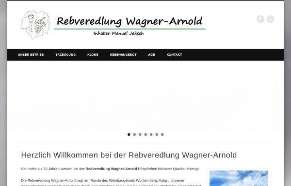 Vorschau von www.wagner-arnold.de, Rebveredlung Wagner-Arnold